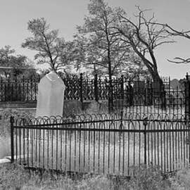 Brent Dolliver - Virginia City Cemetery Scene BW