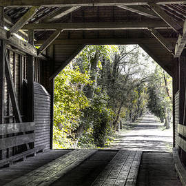 Michael Mazaika - Virginia Country Roads - Time Warp - Meems Bottom Covered Bridge No. 3-Alt Shenandoah County