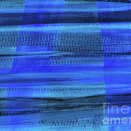 Hao Aiken - Visions In Blue Again - Abstract