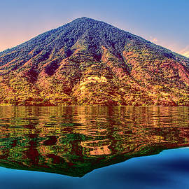 Claude LeTien - Volcano Reflection