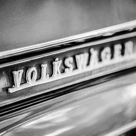 Volkswagen VW Emblem -0150bw - Jill Reger