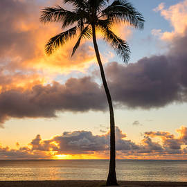 Brian Harig - Waimea Beach Sunset 2 - Oahu Hawaii
