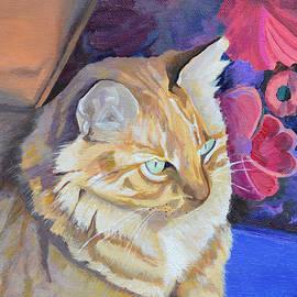 Mary Chant - Waiting Cat
