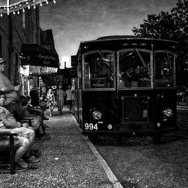 Greg Mimbs - Waiting On A Bus in Black and White