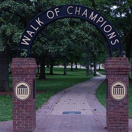 Terry Cobb - Walk of Champions at Ole Miss