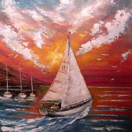 Politov Valeryi - Walk under sail