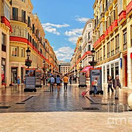 Mary Machare - Walking through Malaga