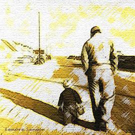 Lenore Senior - Walking with Grandpa