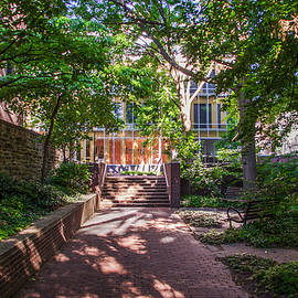 Bill Cannon - Walkway Along Dietrich Library - University of Pennsylvania