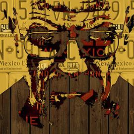 Walter White Breaking Bad New Mexico License Plate Art - Design Turnpike