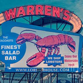 Edward Fielding - Warrens Lobster House Neon Sign Kittery Maine