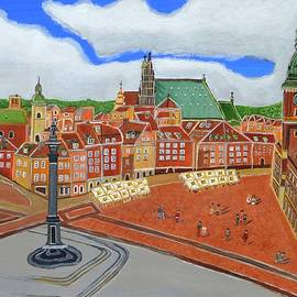 Magdalena Frohnsdorff - Warsaw- Old Town