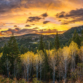 Wasatch Autumn Sunrise - James Udall
