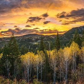 Wasatch Autumn Sunrise - James Udall