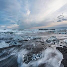 Scott Cunningham - Washed up Ice Sunset