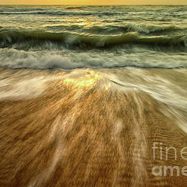 Melissa Fague - Washing out to Sea Nature Photograph