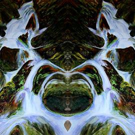 Harsh Malik - Water Fall - Diptych