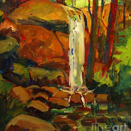 Charlie Spear - Water Fall in White Tail Reserve