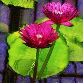 Judi Bagwell - Water Lilies at Kew