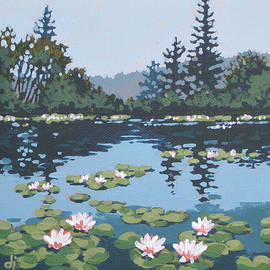 Dorothy Jenson - Water Lilly Morning