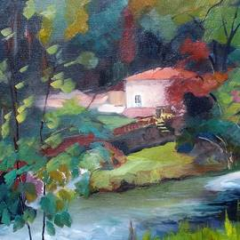 Kim PARDON - Water Mill Theillaud on the Gartempe 87