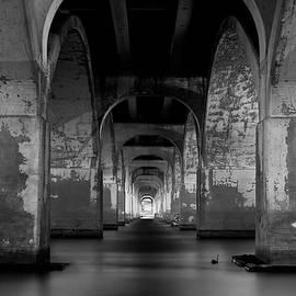 Gregory Ballos - Water Under the Bridge - Tulsa Black and White