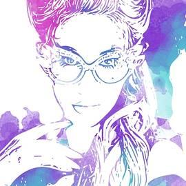 Patrizia Fazzari - Watercolor Woman