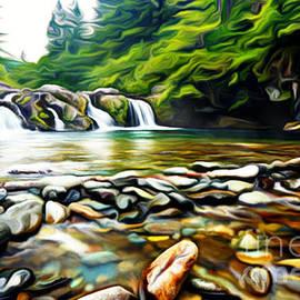 Larry Espinoza - Waterfall Glen
