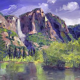 David Lloyd Glover - Waterfall Yosemite