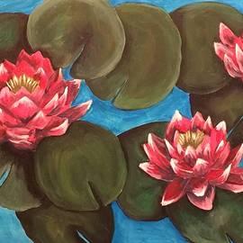 Susan Peters - Waterlilies