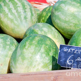 Watermelons with a Price Sign - Paul Velgos
