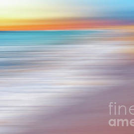 Kaye Menner - Waves Abstraction II by Kaye Menner