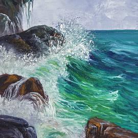 Darice Machel McGuire - Waves on Maui
