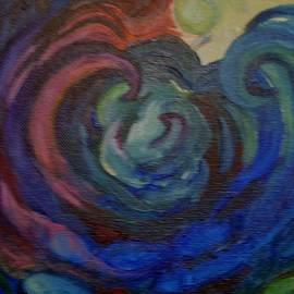 Susan Brown    Slizys art signature name - Waves
