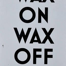 Pat Turner - Wax on
