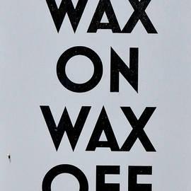 Pat Turner - Wax On Wax Off