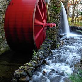 Betty Denise - Wayside Inn Grist Mill Water Wheel