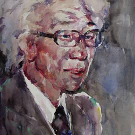 Becky Kim - WC Portrait 1624 My Papa