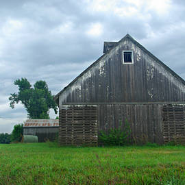 Kathy Krause - Weathered Corn Crib