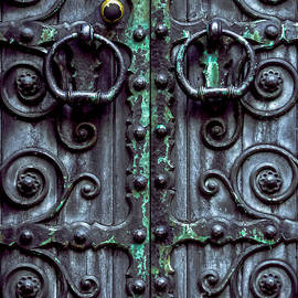 James Aiken - Weathered Gothic Door