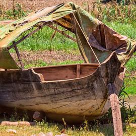 Georgia Fowler - Weathered Old Boat