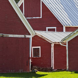 Alan L Graham - Weathered Red Barns