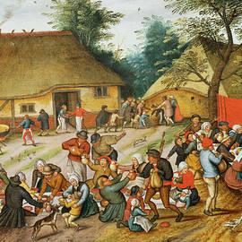 Wedding Feast - Pieter the Younger Brueghel
