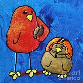 LimbBirds Whimsical Birds - Weekend Warriors