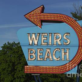 David Gordon - Weirs Beach NH Sign - color