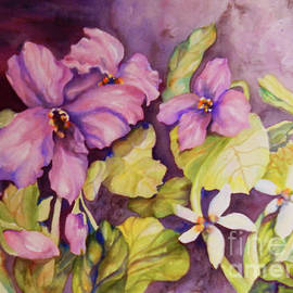 Sharon Nelson-Bianco - Welcome Spring Violets