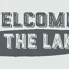 Edward Fielding - Welcome to the Lake Sign
