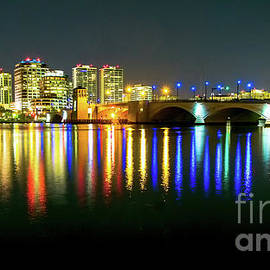 Rene Triay Photography - West Palm Beach Panoramic at Dusk
