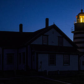 Marty Saccone - West Quoddy Head Lighthouse Predawn Hour