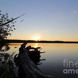 Neal  Eslinger - West Thompson Lake Summer Sunset